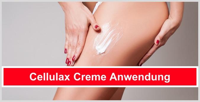 cellulax creme anwendung