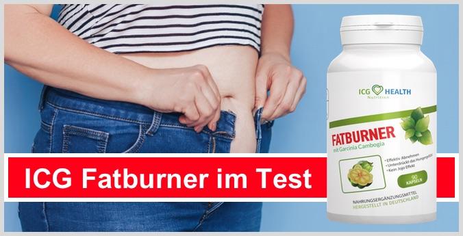 icg fatburner test