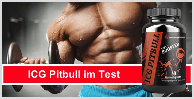 ICG Pitbull Testo Booster Test Wirkung