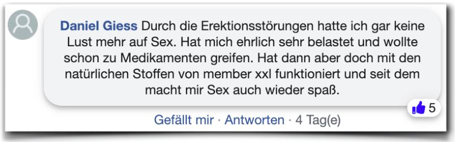 Member xxl Erfahrung Erfahrungen facebook