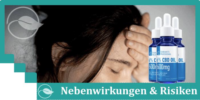 Sarah's Blessing Nebenwirkungen Risiken Unverträglichkeiten