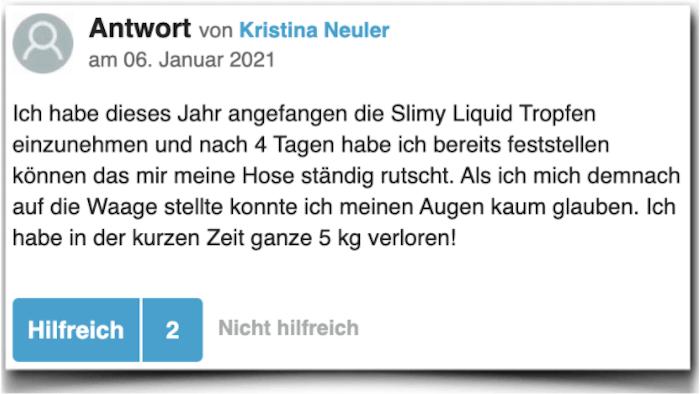 Slimy Liquid Erfahrungsbericht gutefrage