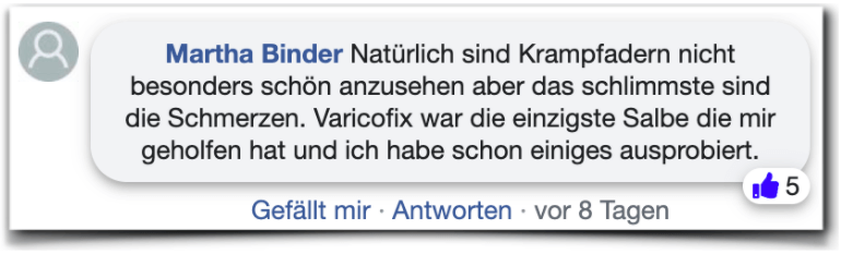Varicofix Bewertungen Erfahrungen Facebook