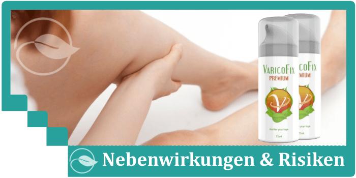 Varicofix Nebenwirkungen Risiken Unverträglichkeiten