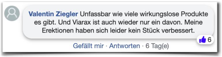 Viarax Erfahrungen Bewertungen facebook