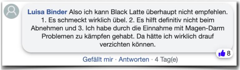 Black Latte Erfahrungsbericht Bewertung Kritik Erfahrungen