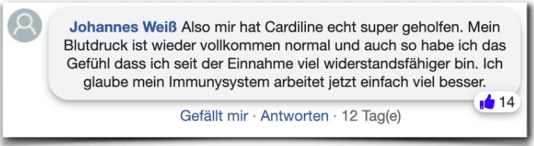 Cardiline Erfahrungen Bewertung Erfahrungsbericht Cardiline