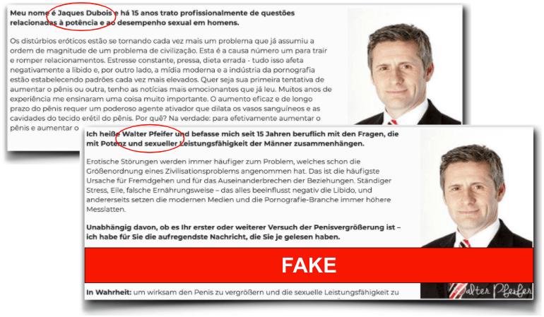 Collosel fake Experte