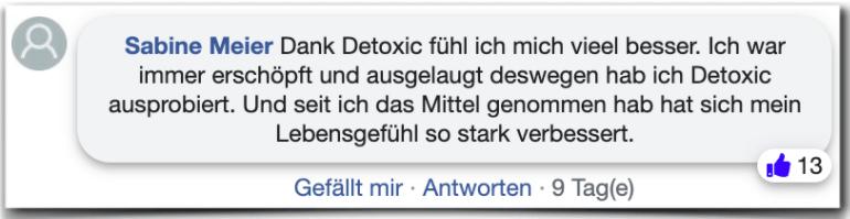 Detoxic Erfahrungsbericht Bewertung Kritik Erfahrungen
