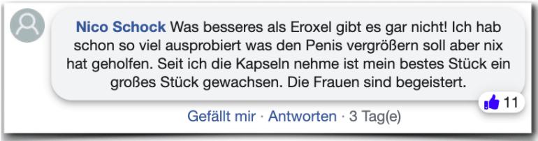 Eroxel Erfahrungsbericht Bewertung Kritik Eroxel