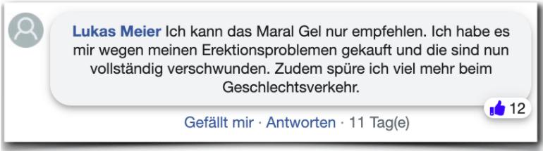 Maral Gel Erfahrungen Erfahrungsbericht Bewertung Kritik