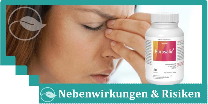 Purosalin Nebenwirkungen Risiken Unverträglichkeiten