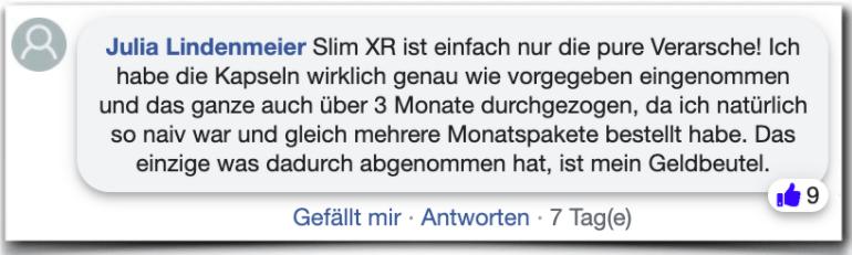Slim XR Erfahrungsbericht Bewertung Kritik Erfahrungen
