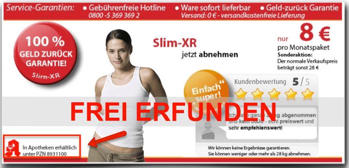 Slim XR PZN frei erfunden