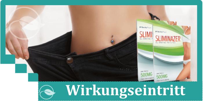 Sliminazer Wirkung Wirkungseintritt