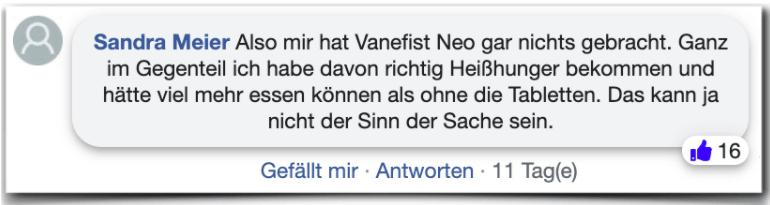 Vanefist Neo Erfahrungen Bewertung Kritik Vanefist Neo