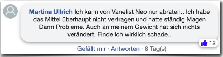 Vanefist Neo Erfahrungsbericht Kritik Bewertung Erfahrungen