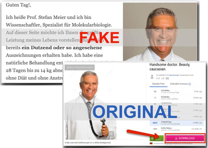 Vanefist Neo Fake Arztbericht