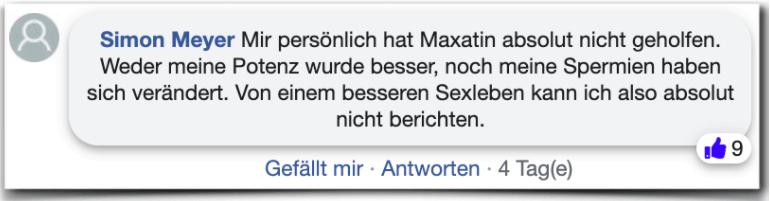 Maxatin Erfahrungsbericht Bewertung Kritik Erfahrungen