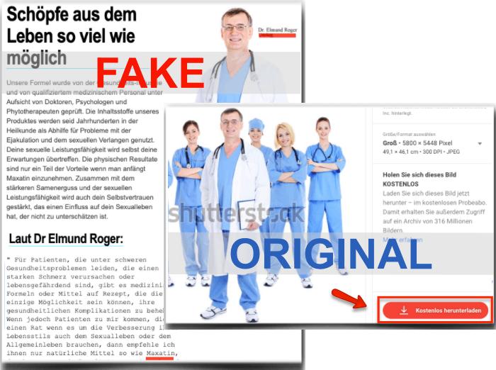 Maxatin Fake Arzt
