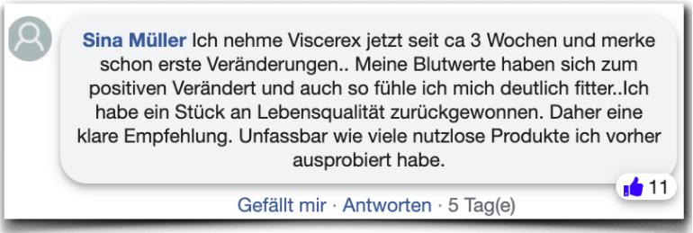 Viscerex Erfahrungsbericht Bewertung Kritik Viscerex